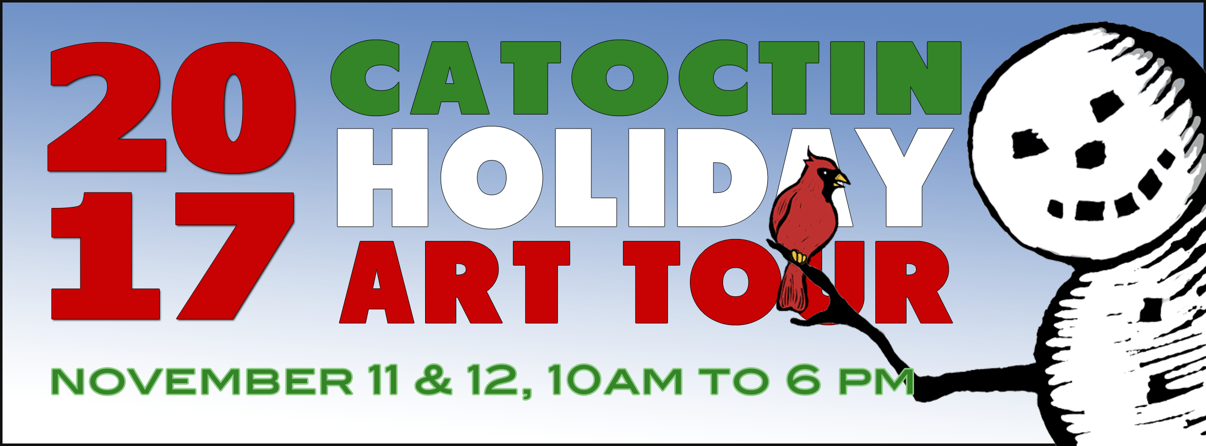 Catoctin Holiday Art Tour - November 11-12, 2017 - 10am-6pm
