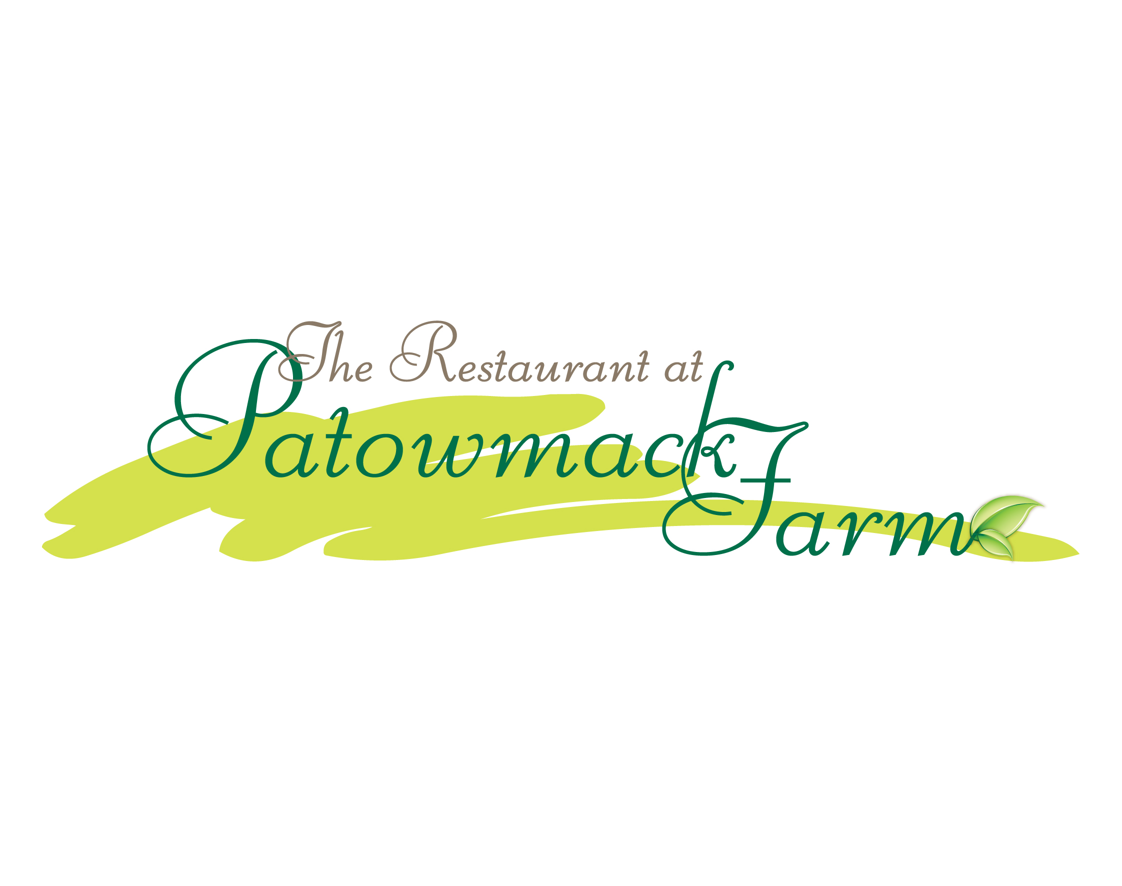The Restaurant at Patowmack Farm